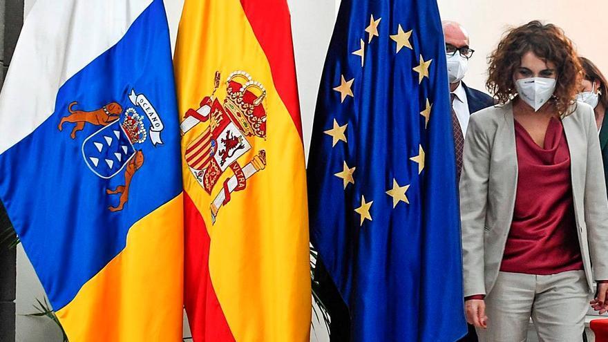 El PSOE canario atribuye a Montero el desaguisado creado con el REF