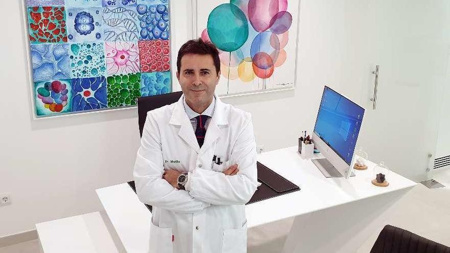 """Murillo: """"Utilizamos un simulador 3D para recrear el antes y el después de la cirugía"""""""