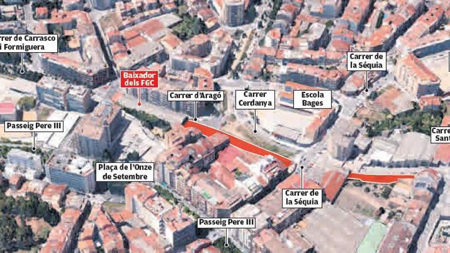 El soterrament dels FGC unirà el Guimerà amb carretera de Santpedor