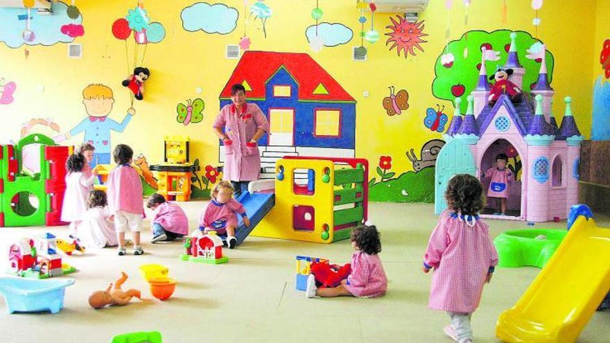 Los centros infantiles privados pierden 1.750 alumnos en tres cursos
