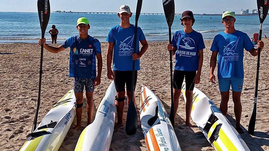 Canet recoge los primeros frutos de  su apuesta por los deportes náuticos