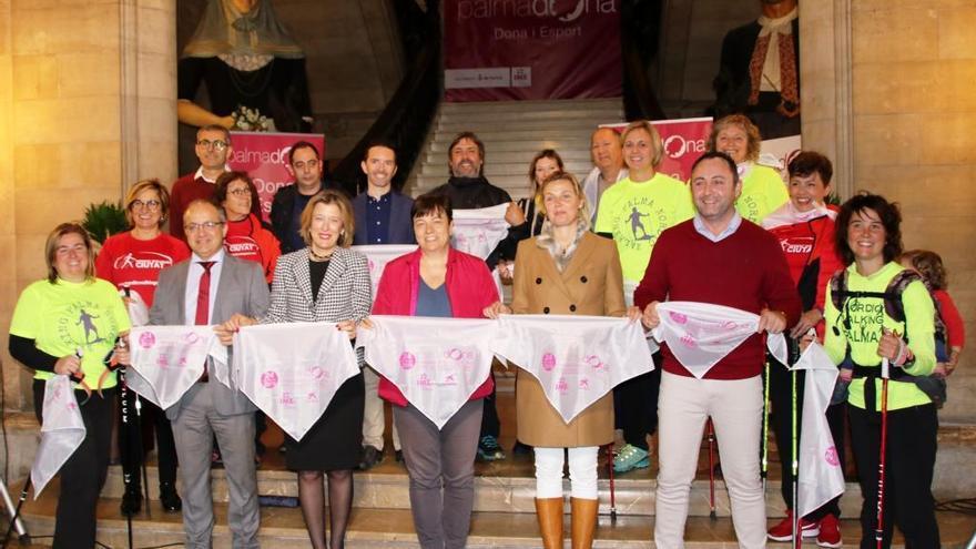 Palma acoge la IV Marcha por la Igualdad-Nordic Walking este próximo domingo