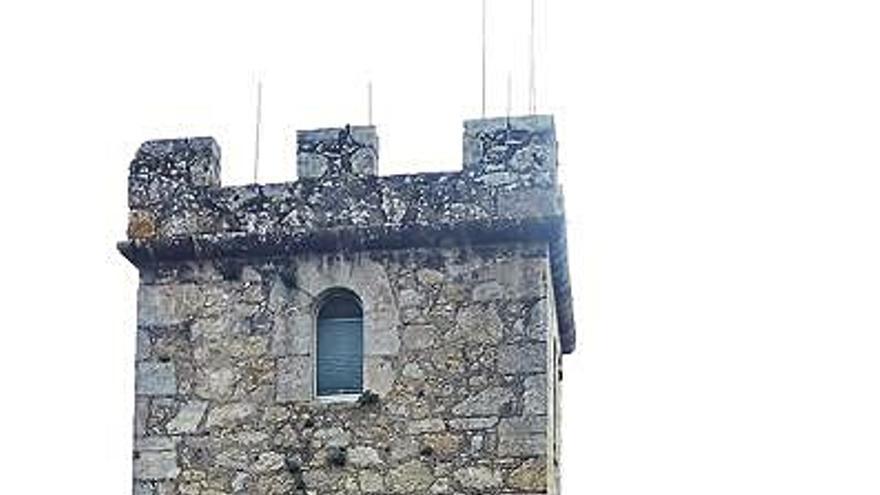 La torre cuadrada del castillo de Santa Cruz, nuevo punto de información turística