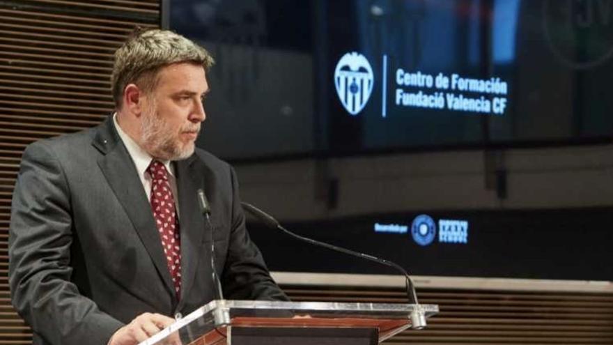 El Valencia CF fulmina a Pablo Mantilla, director de la Fundació VCF