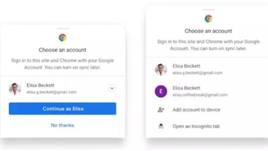 Chrome simplifica la gestión de los pagos y las contraseñas sin sincronización