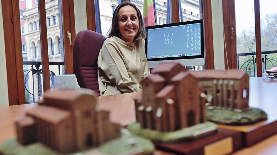 """María Álvarez: """"El Camino de Santiago fue un gran revulsivo urbano y comercial para Oviedo"""""""