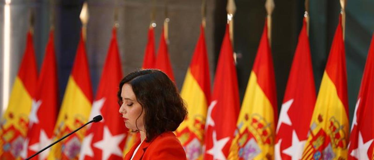 """Ayuso asegura que Madrid """"va a estar a disposición de los catalanes"""""""