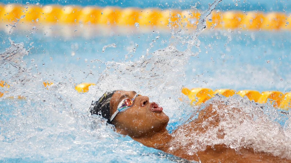 El nadador español Hugo González.