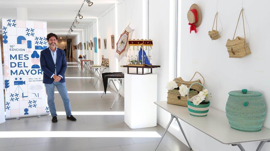 'Arte Mayor', exposición en la Diputación a cargo de los mayores de la provincia de Málaga