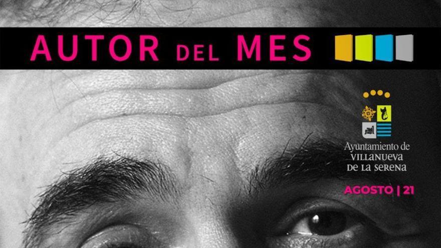 Terenci Moix es el autor del mes de la biblioteca de Villanueva