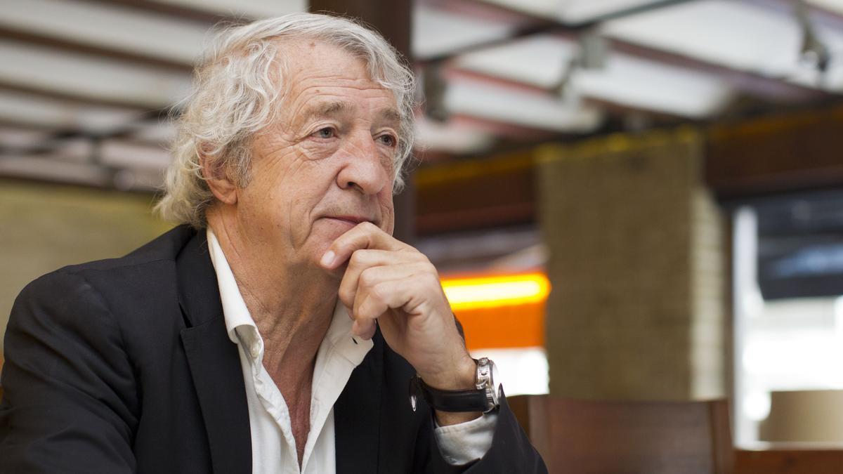Juan Cruz Sol, en una entrevista