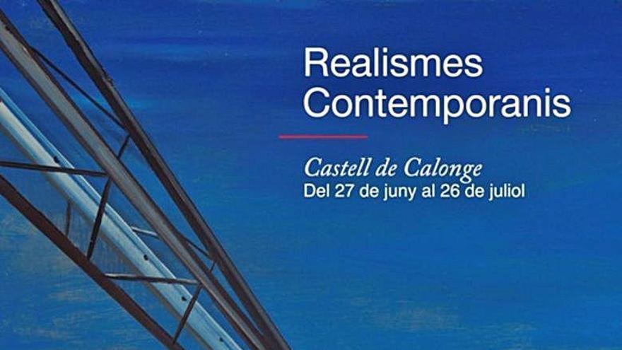 El Nou Realisme s'instal·la a partir  d'aquest dissabte al castell de Calonge