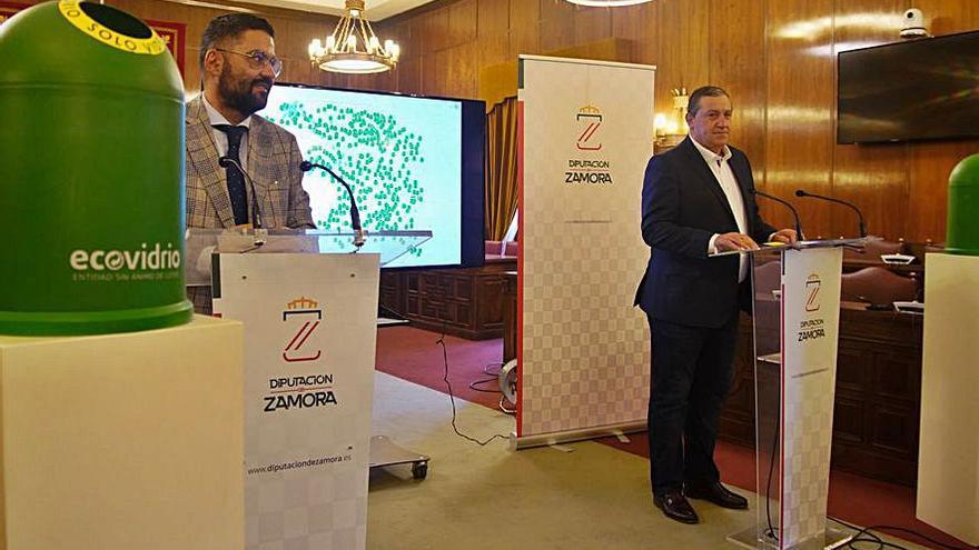 La Diputación de Zamora mejora los contenedores de vidrio de la provincia
