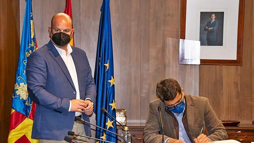 La Diputación reactivará el proyecto de mejora de la vía que une Teulada y Moraira