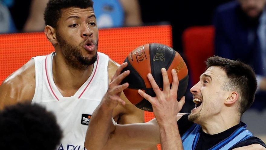 El Real Madrid somete a un bravo Estudiantes a base de triples