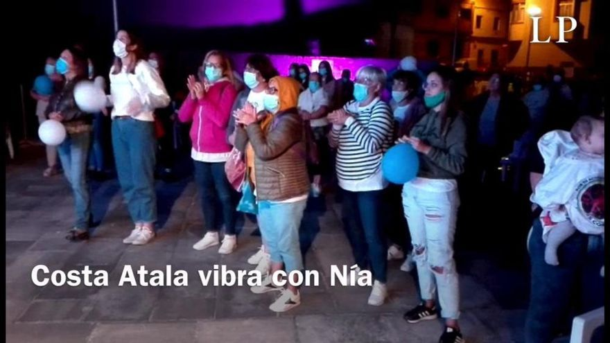 Costa Ayala se emociona con Nia