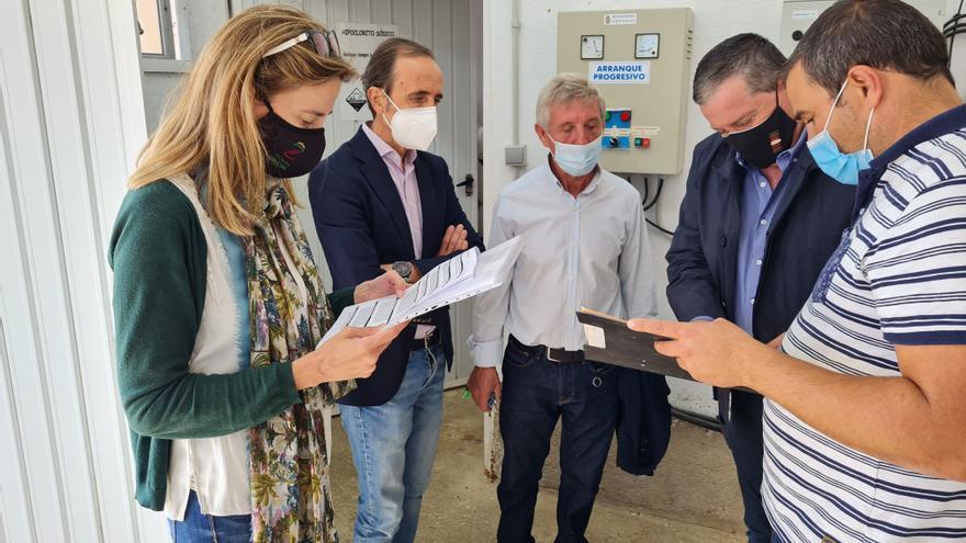 Un nuevo depósito de agua en Veniablo mejorará el abastecimiento de sus vecinos