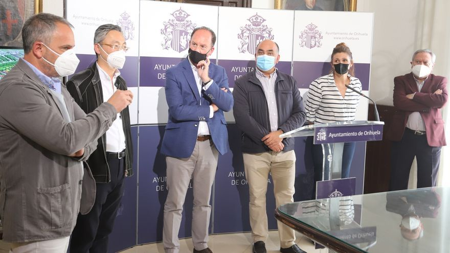 Orihuela representará a España en una exposición de flores en Shanghái