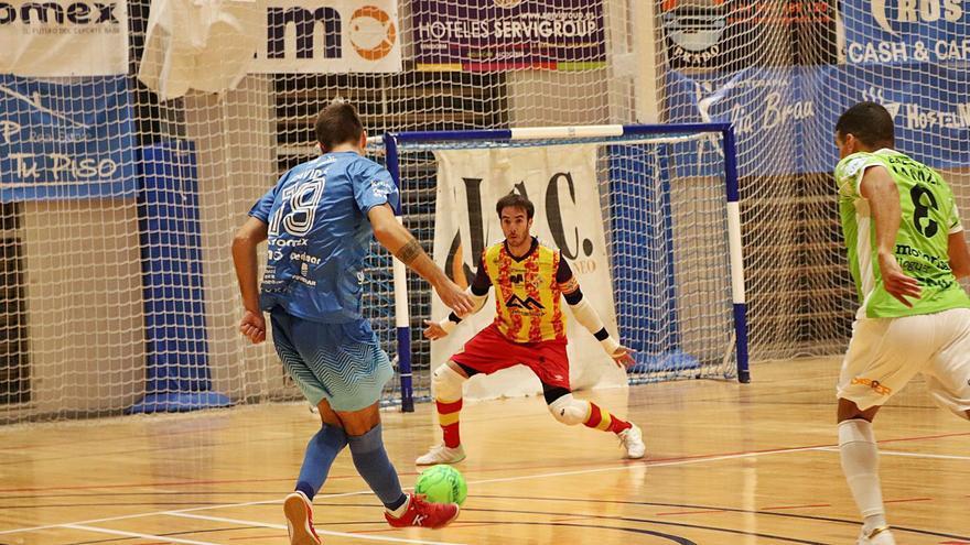 El Palma Futsal se conforma con un punto tras desperdiciar tres ventajas