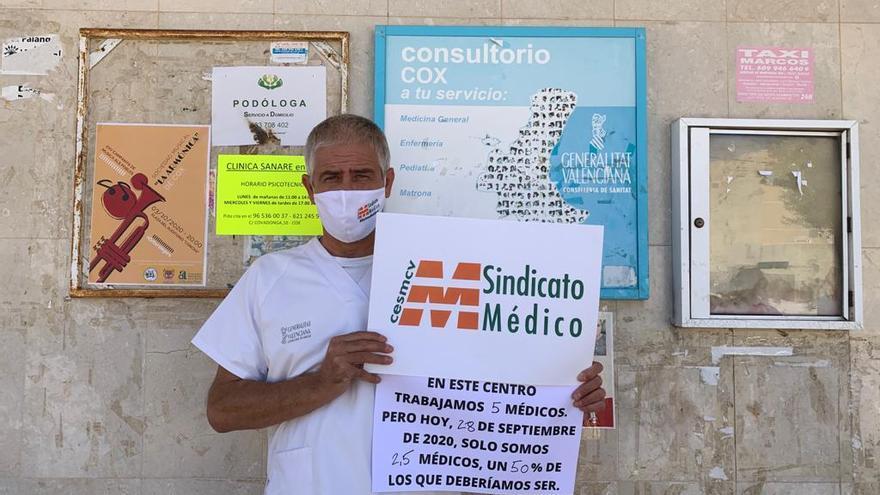 Médicos atienden a 40 pacientes en tres horas