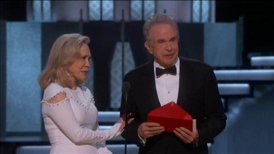 Final grotesco en los Oscar