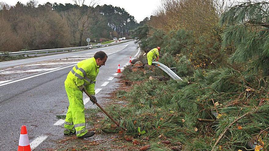 Casi 400.000 euros para reparar daños de los temporales de 2019