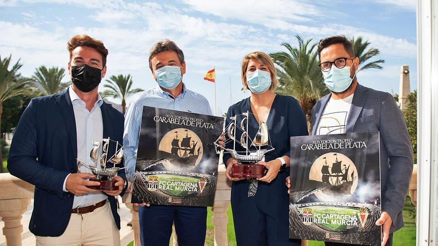 Casi siete mil espectadores podrán acudir al FC Cartagena-Real Murcia