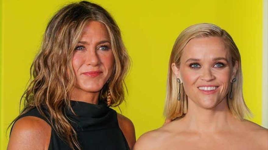 Jennifer Aniston y Reese Witherspoon deslumbran en la premiere de 'The Morning Show'