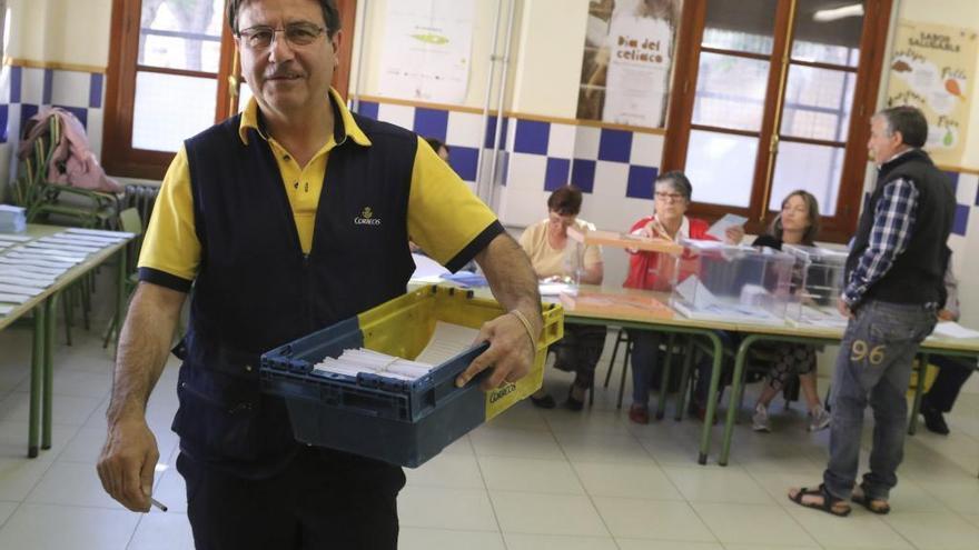 Las peticiones del voto por correo caen en Zamora, con 2.000 solicitudes menos que el 28A