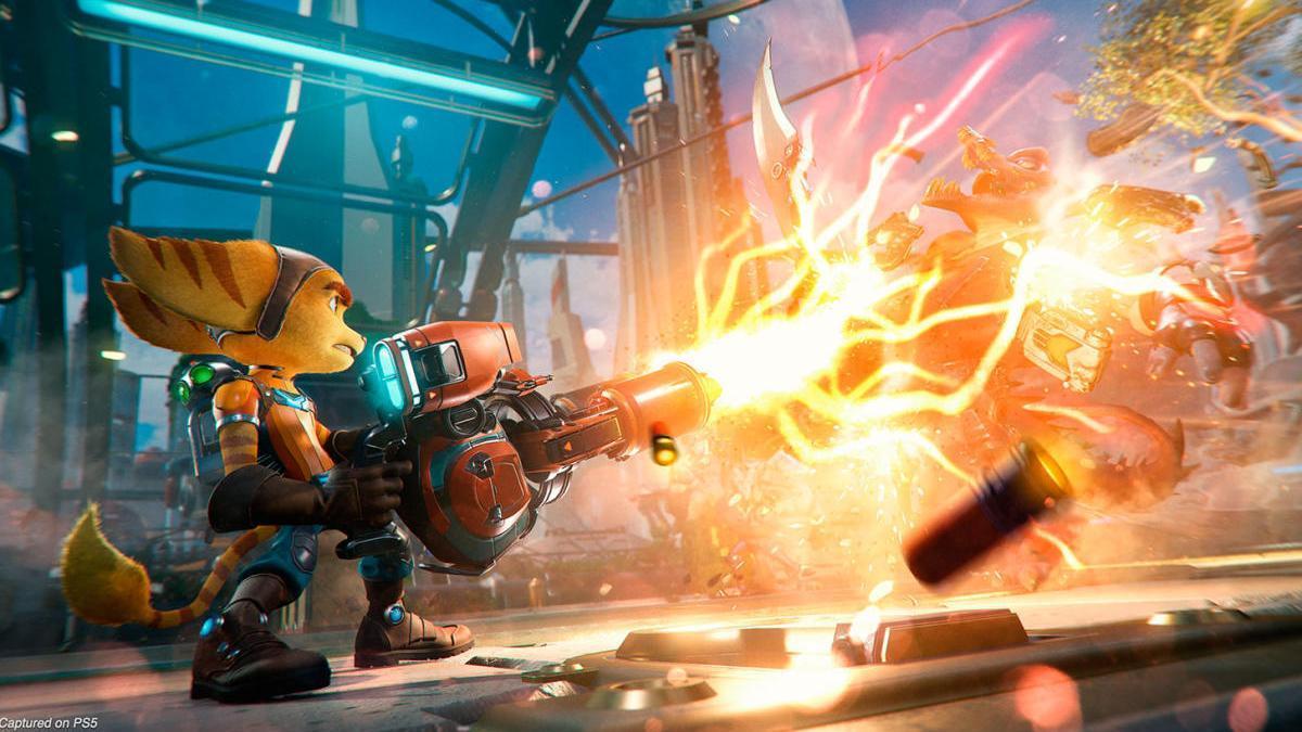 'Ratchet & Clank: Una Dimensión Aparte'