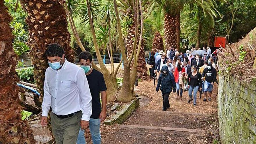 """El PP de Valdés pide """"rigor"""" en la gestión del jardín de la Fonte Baxa"""