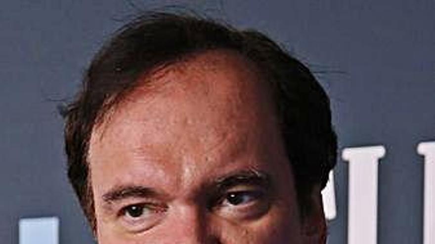El director de cine Quentin Tarantino y Daniella Pick, padres de un niño
