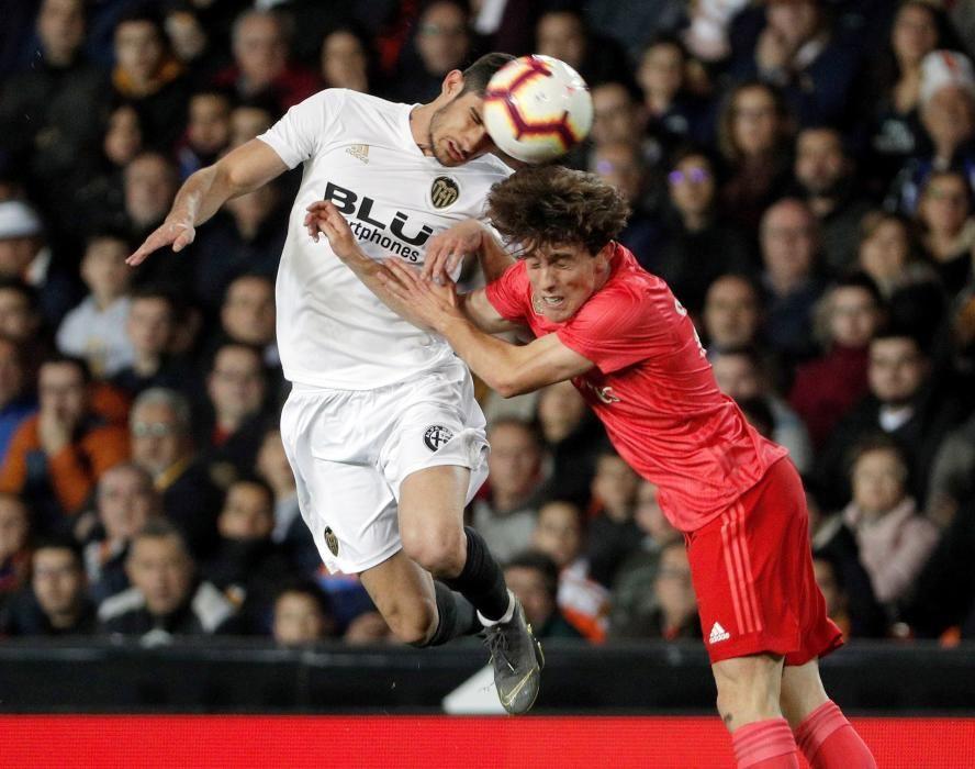 Las imágenes del Valencia - Real Madrid