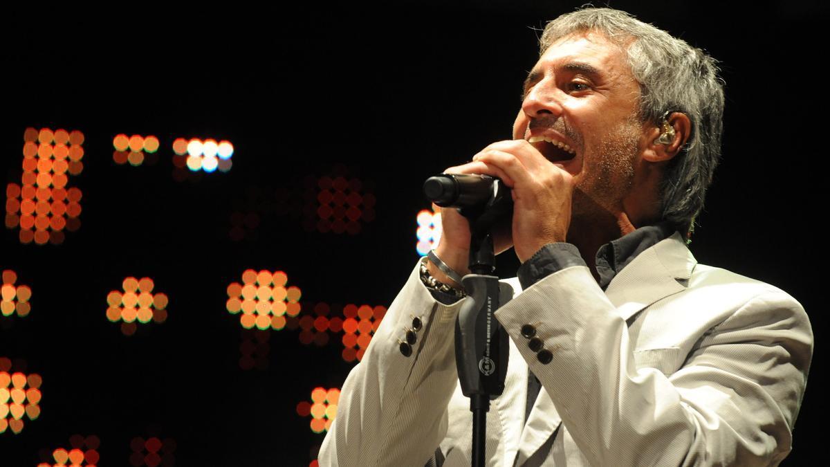 El cantante, Sergio Dalma.