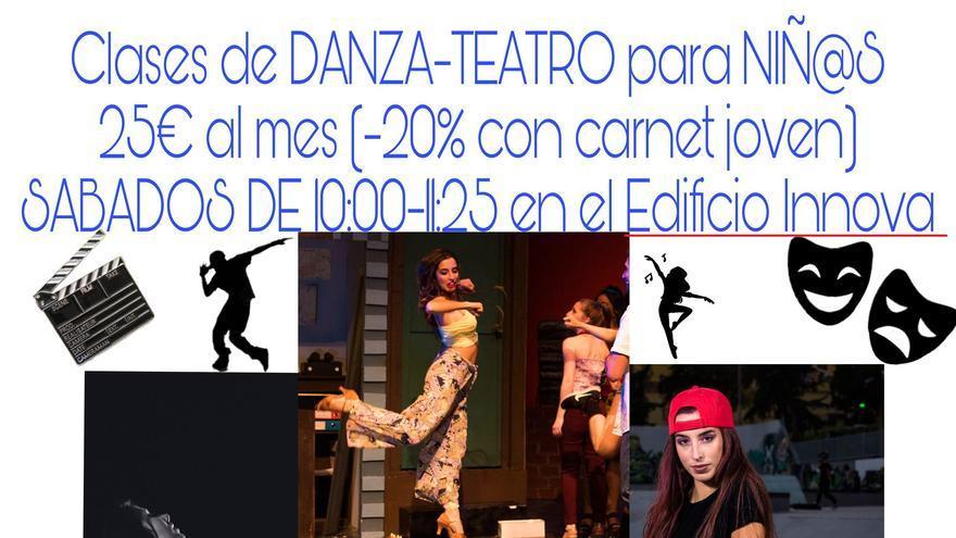 Clases de danza y teatro