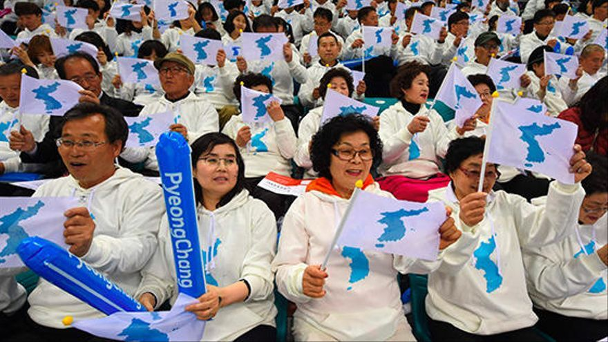 Las dos Coreas desfilarán juntas  en los Juegos de Invierno de PyeonChang