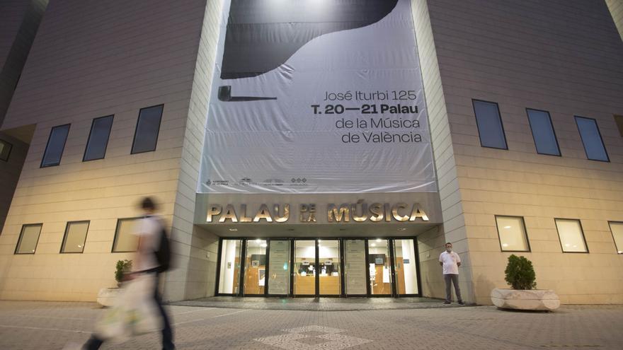El Palau de la Música abrirá antes de que finalicen sus obras