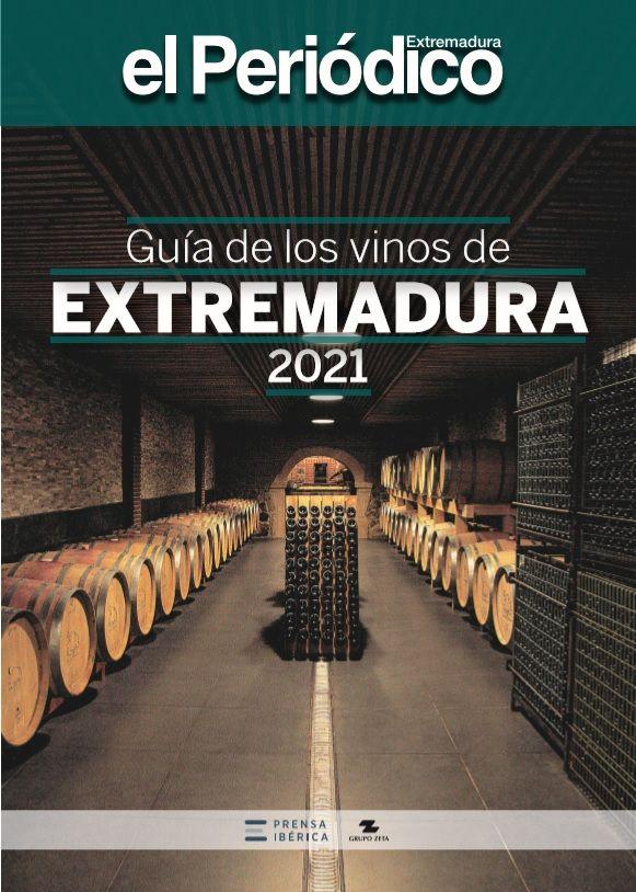 Portada de la Guía de los Vinos de Extremadura 2021.