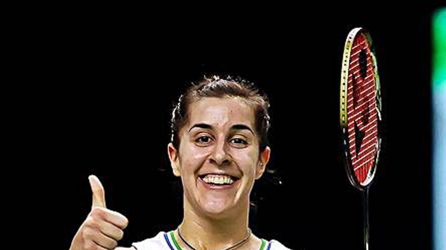 Carolina Marín alcanza su primera final del año