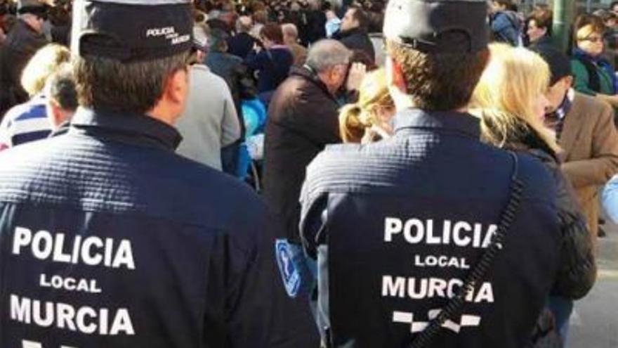 La Policía Local de Murcia ampliará su plantilla con 133 agentes nuevos antes de un año