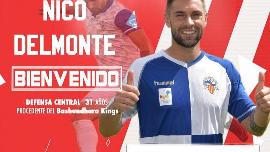 Nico Delmonte, nuevo jugador del Zamora CF