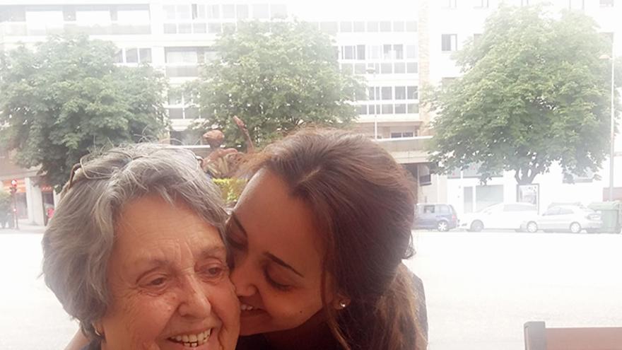 """""""Mi abuela ahora parece otra, está feliz"""""""