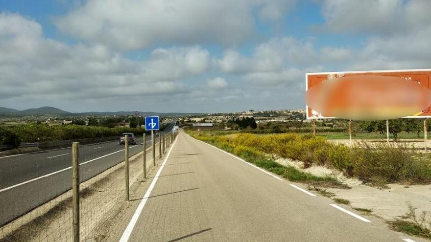 Harte Hand auf Mallorca gegen illegale Werbetafeln an Landstraßen