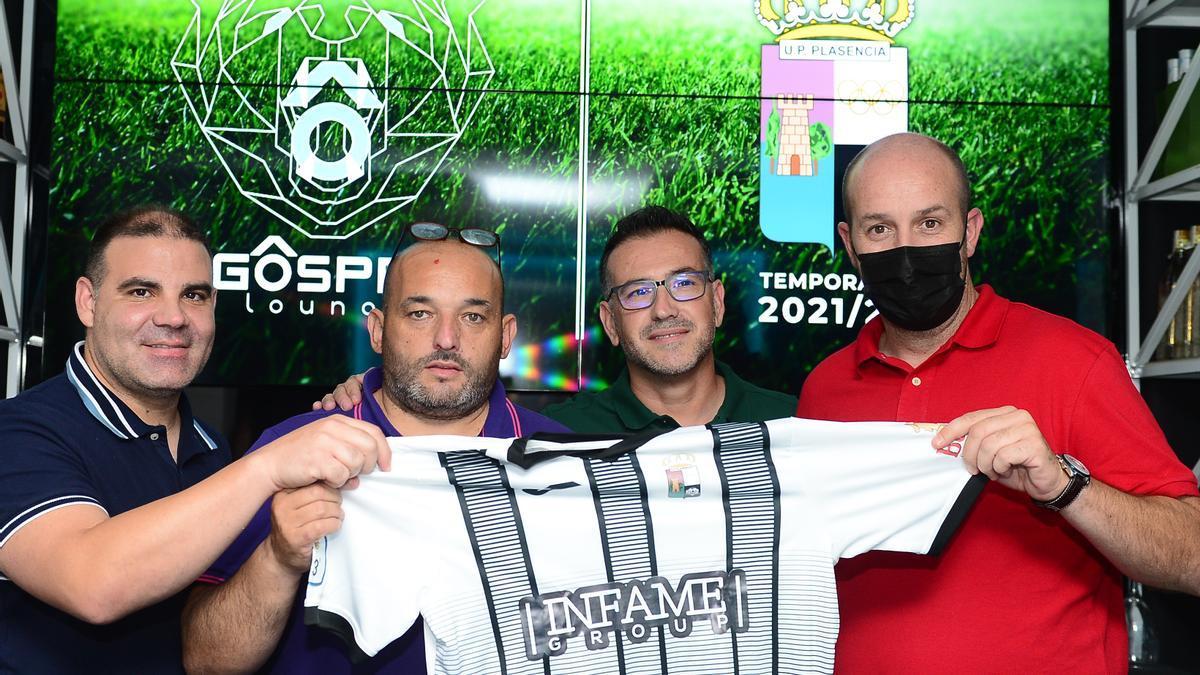 Manuel Pérez, David Salvo, José Antonio Quijada y José María Rebollo, este jueves