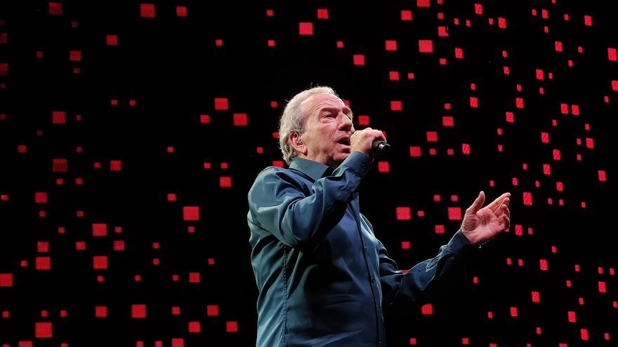 Últimas noticias del concierto de José Luis Perales hoy en València