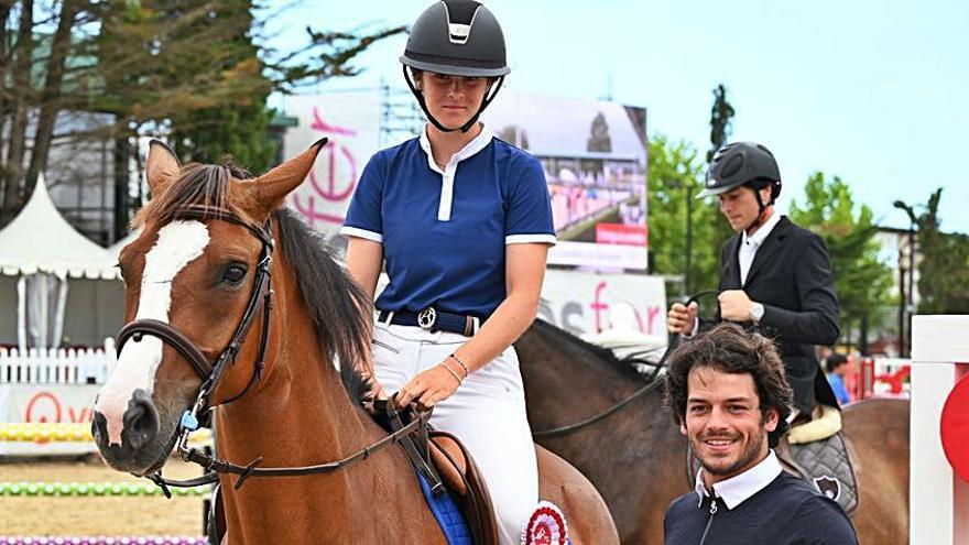 Elena Appendino se impone en la prueba que abrió el concurso