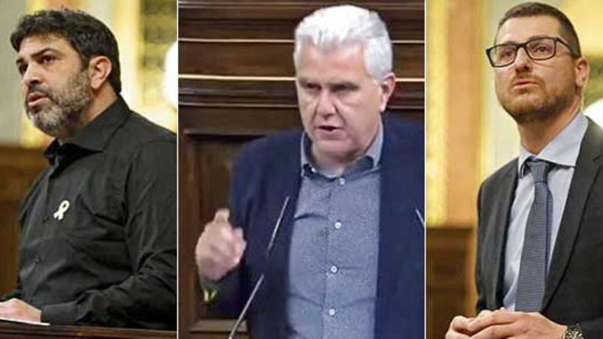 Ofensiva de diputados de Baleares en el Congreso para exigir el REB a Sánchez