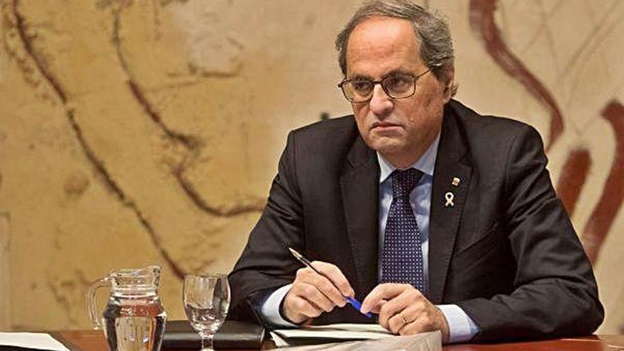 Torra vol impulsar la «Constitució catalana»  i descarta commemorar el text de 1978