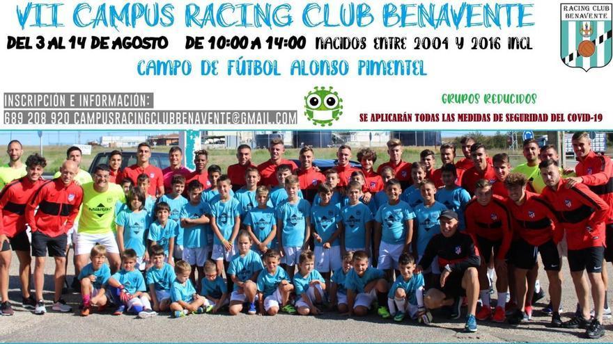 El Racing Club Benavente celebrará su campus de verano