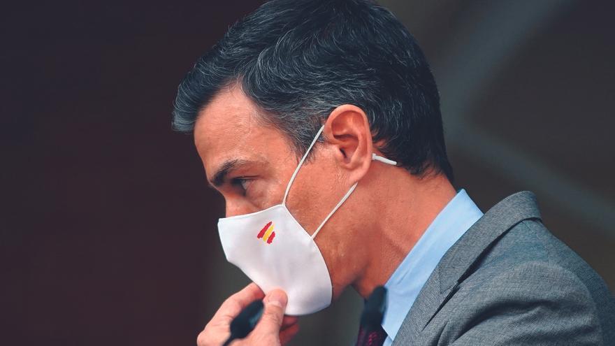 Sánchez pide al Govern que escuche a la Cataluña no independentista y deja a Junqueras fuera de la mesa
